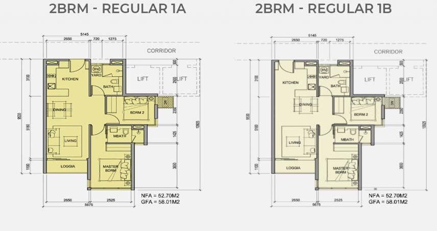 2PN – Regular – 85m2