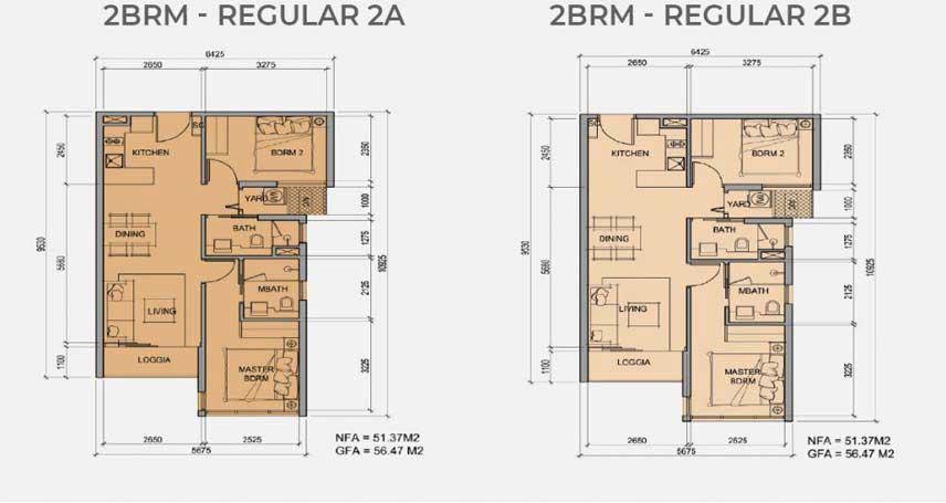 2PN – Regular – 56m2