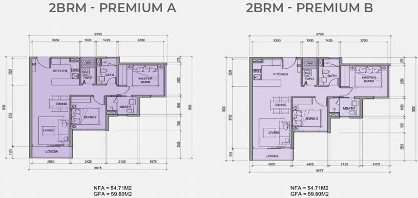 2PN – Premium – 59m2
